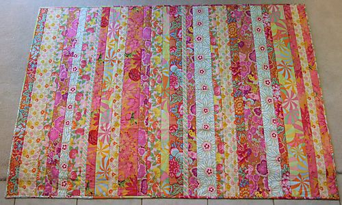 Kaffe Beach wrapping paper quilt