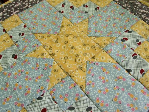 Antique Star pillow cover